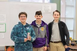 8th Grade Helps Combat Hypothermia in Science Class